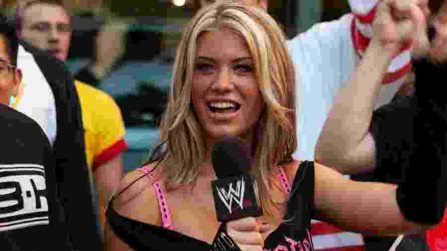 Ashley Massaro - Divulgação/WWE