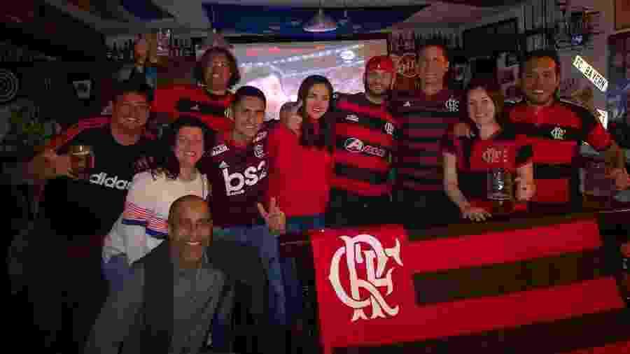 Consulado Fla-Peru reúne rubro-negros em Lima para acompanhar os jogos do clube da Gávea - Arquivo Pessoal