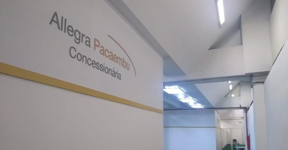 Pacaembu Allegra vestiário