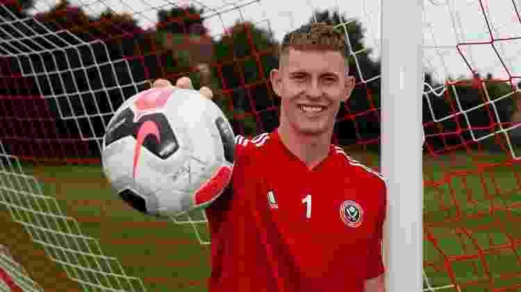 Dean Henderson - Divulgação/Sheffield United - Divulgação/Sheffield United