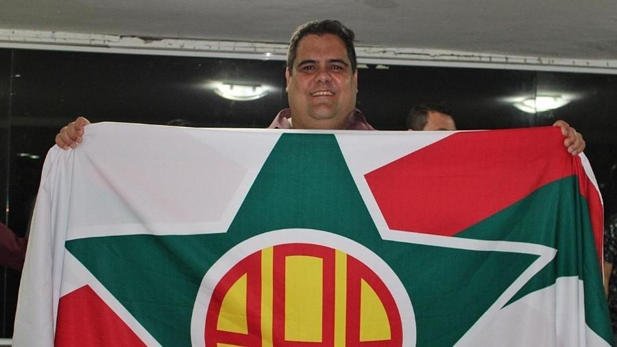 Marcelo Barros, presidente da Portuguesa-RJ - André Oliveira / A.A. Portuguesa