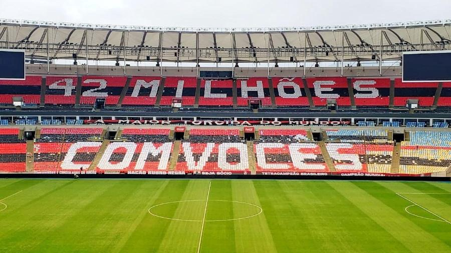 Flamengo faz ação e espera 5 mil sugestões para mosaico