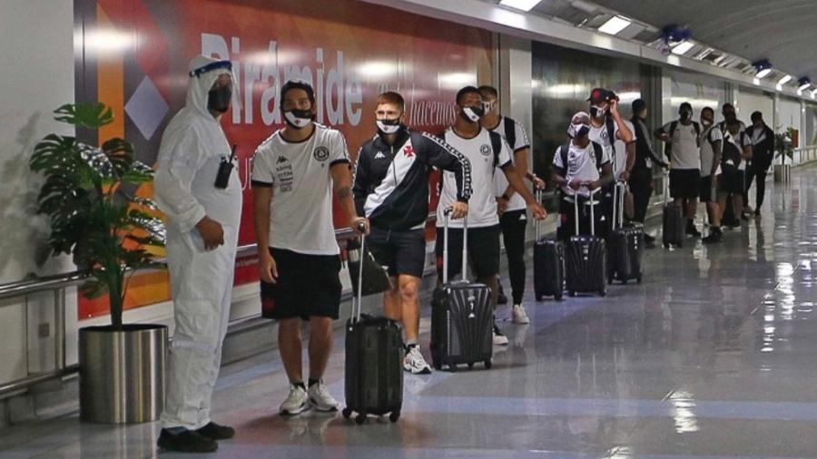 Apenas sete jogadores de todo o elenco do Vasco não foram infectados pelo coronavírus - Rafael Ribeiro / Vasco