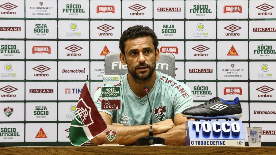 """Fred falou do """"sonho"""" de classificar Fluminense à Libertadores em retorno ao clube - Lucas Merçon/Fluminense FC"""