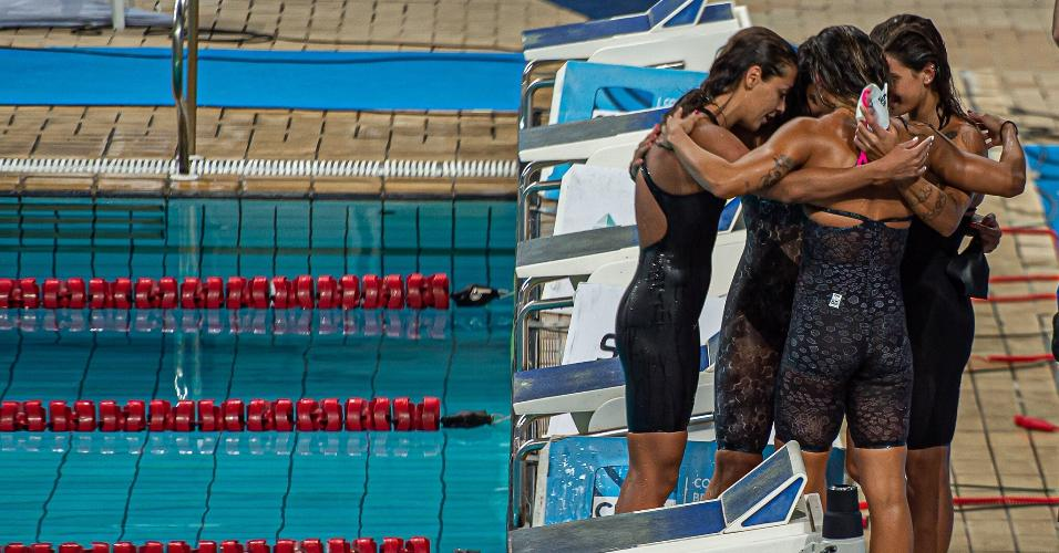 Atletas do Flamengo participam do quarto dia de Seletiva Olímpica