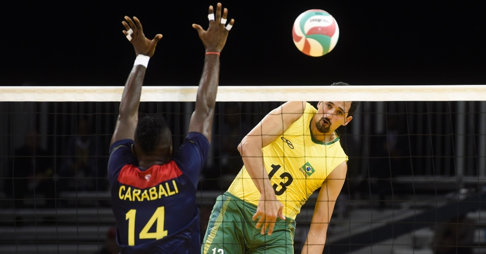 Brasil enfrenta a Colômbia em sua estreia no vôlei masculino em Toronto