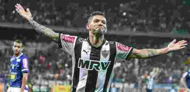 Atacante Carlos, do Atlético-MG, é o alvo do momento para o ataque do Inter - Bruno Cantini/Atlético-MG