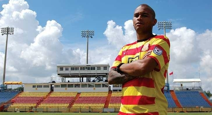 Gabriel, lateral direito revelado pelo São Paulo, está no Fort Lauderdale Strikers, dos Estados Unidos