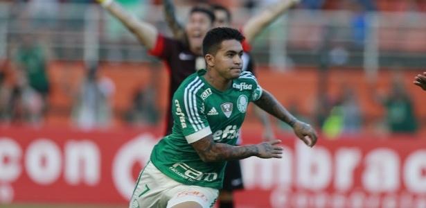 Dudu anotou o gol da vitória palmeirense no Paulista deste ano