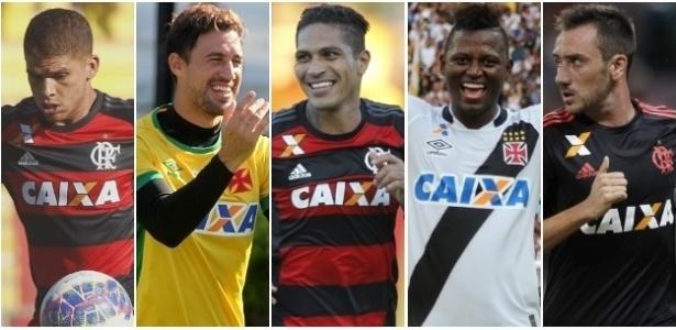 Os gringos dão o tom do clássico decisivo entre Vasco e Flamengo em Manaus - Montagem/UOL