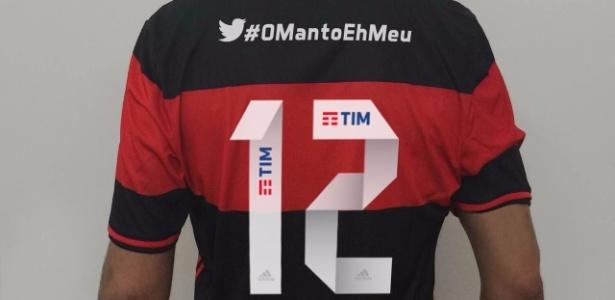 Parceria entre Flamengo e Twitter marca a estreia do Rubro-negro no Brasileirão