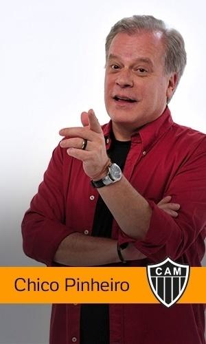 Chico Pinheiro (Rede Globo): Atlético-MG