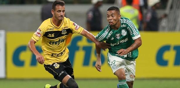 Ano passado, Palmeiras e Crefisa dividiram a 'estampa' com a marca da empresa
