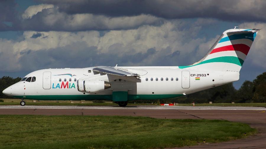 Avião Lamia - Matt Varley/Reuters