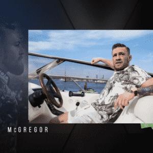 Nem só de carros vive McGregor: ele também gosta de ostentar na lancha - Reprodução/Instagram