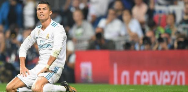 Cristiano Ronaldo contra o Betis: 12 finalizações, zero gols