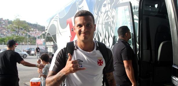 Ramon sofreu grave lesão no joelho direito contra o Flamengo - Paulo Fernandes / Flickr do Vasco