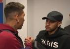 Firmino recebe parabéns de Neymar e diz que sorte evitou algo grave no olho - Caio Carrieri/UOL