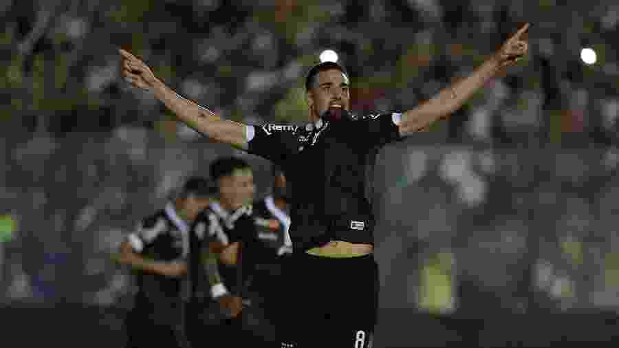 Thiago Galhardo foi afastado pela diretoria do Vasco no início do mês após desgaste interno e com o técnico Alberto Valentim - Thiago Ribeiro/AGIF