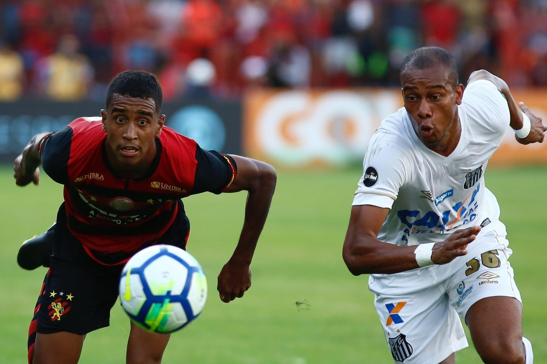 77d9d65930fd6 Sport vence o Santos na despedida de Cuca