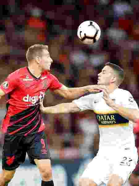 Athletico-PR e Boca Juniors se enfrentam nas oitavas da Libertadores - EFE/Hedeson Alves