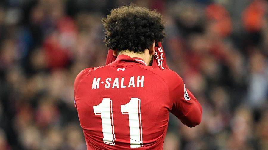 Salah perdeu a semifinal da Liga dos Campeões em 2009 por conta de uma concussão - LLUIS GENE / AFP