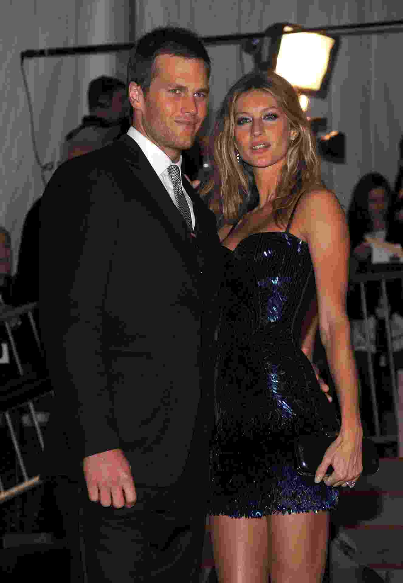 Tom Brady e Gisele no MET - Dimitrios Kambouris/FilmMagic