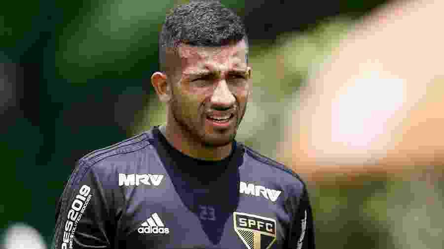 Atacante equatoriano Joao Rojas não entra em campo pelo São Paulo desde outubro de 2018 - Marcello Zambrana/AGIF