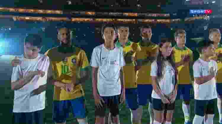 nickollas e neymar - Reprodução - Reprodução