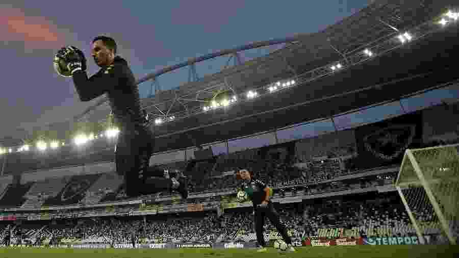 Gatito se reapresentou no Botafogo - Vitor Silva/Botafogo