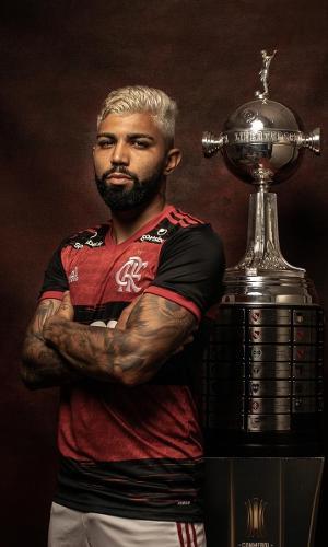 Gabriel Barbosa, atacante do Flamengo