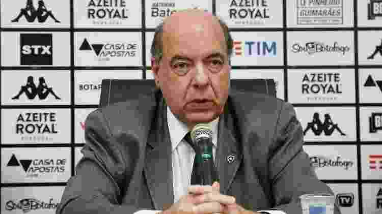 Botafogo de Nelson Mufarrej tem alta dívida com a Ferj - Vitor Silva / Botafogo F.R. - Vitor Silva / Botafogo F.R.