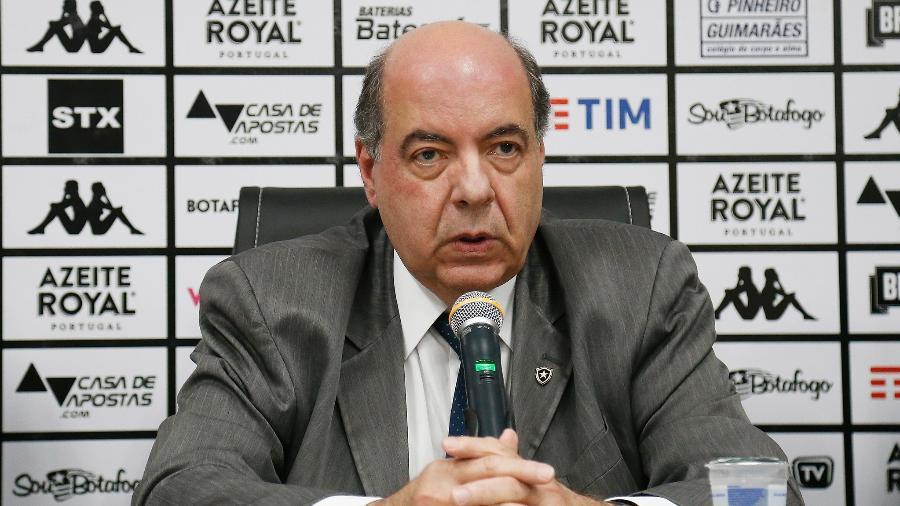 Nelson Mufarrej, presidente do Botafogo - Vitor Silva / Botafogo F.R.