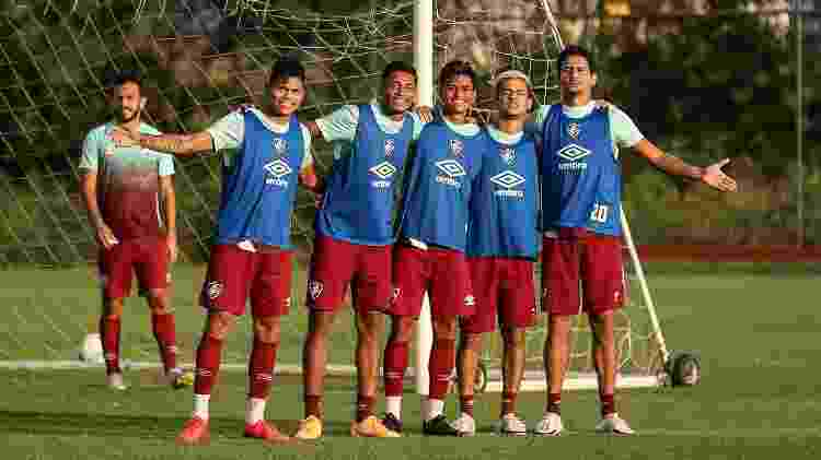 """Ganso é referência para os """"moleques de Xerém"""" no Fluminense - Lucas Merçon/Fluminense FC - Lucas Merçon/Fluminense FC"""