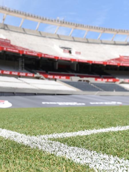 Monumental de Núñez vai receber a abertura e pode ter a final da Copa América - Divulgação River Plate