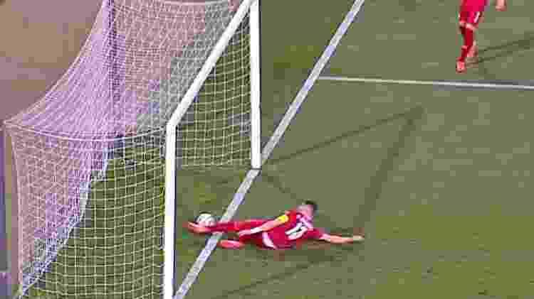 Gol de CR7 contra a Sérvia? - Reprodução/TNT Sports - Reprodução/TNT Sports
