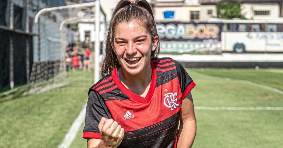 Malu é mais um reforço do Flamengo Sub-18