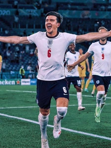 Harry Maguire, zagueiro da Inglaterra - Reprodução/Instagram