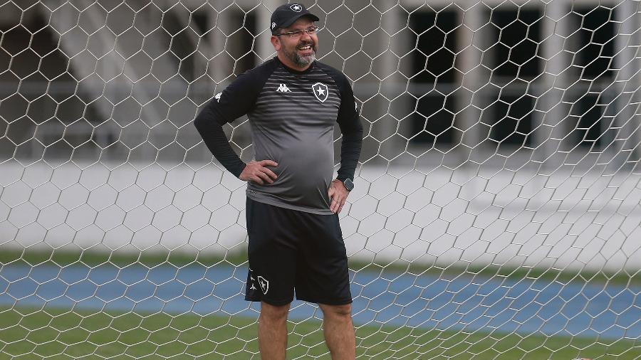 Enderson Moreira, técnico do Botafogo - Vitor Silva/Botafogo