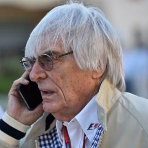Chefe da Fórmula 1, Bernie Ecclestone