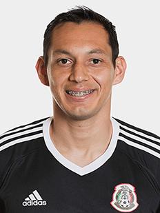 Rodolfo Cota, goleiro do México