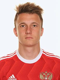 Aleksandr Golovin, meia da Rússia