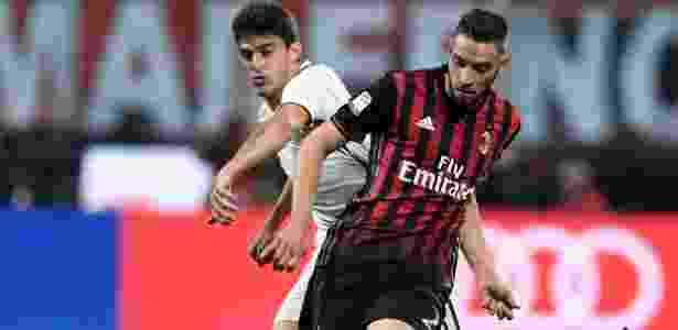 O polivalente De Sciglio, do Milan, que pode atuar nas duas laterais - Xinhua/Alberto Lingria