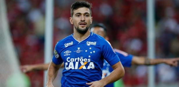Arrascaeta está no Cruzeiro desde 2015 e já disputou 142 partidas pelo clube