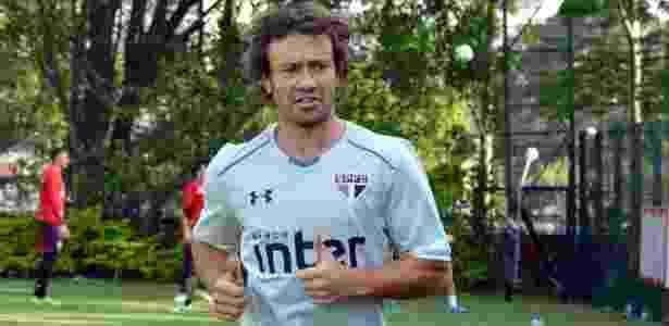 Lugano deve se despedir do São Paulo na partida contra o Bahia, na última rodada - Érico Leonan/saopaulofc.net