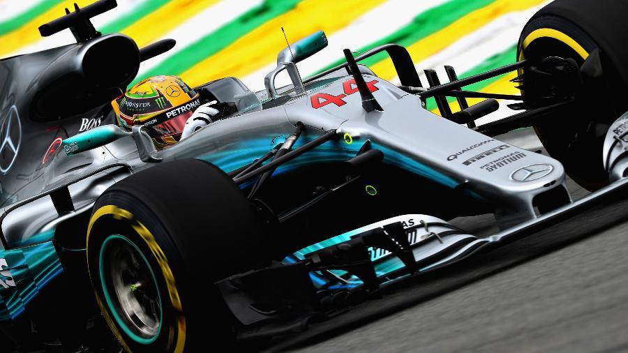 Mercedes de Hamilton não quebrou em nenhum GP em 2017 - Mark Thompson/Getty Images