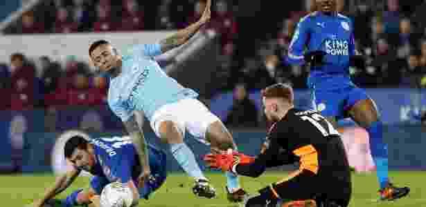 Gabriel Jesus está na lista de melhores jogadores do ano, segundo jornal britânico - Darren Staples/Reuters