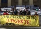 Organizadas de Bota e Fla protestam e cobram CPI contra Federação do Rio - Divulgação