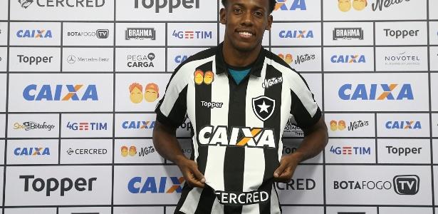 Moisés é apresentado no Botafogo e mostra fome de bola antes da estreia - Vitor Silva/SSPress/Botafogo