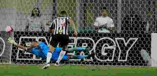 Danilo Barcelos anota o gol do Atlético-MG diante do Tombense - Pedro Vale/AGIF - Pedro Vale/AGIF